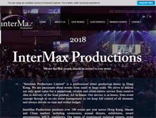 Tablet Preview of inter-max.com.hk